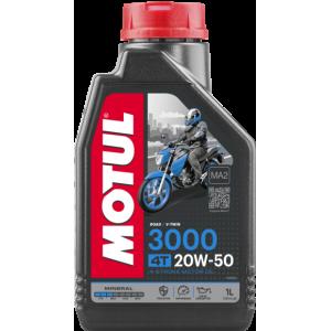 Aceite MOTUL 3000 4T 20W-50