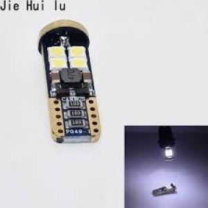 Bombilla  luz LED blanca de alta calidad T10 CANBUS 12SMD CANBUS