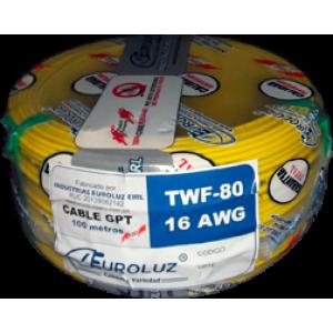 Cable automotriz TWF-80/ 16AWG