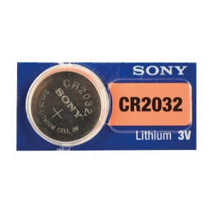 Pila Lithium CR2032/CR2025/CR20/16, 3V Tab Sony