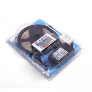 Cinta LED RGB 5m de luz LED con control remoto