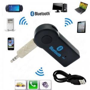 Receptor Adaptador Bluetooth V3.0 de 3,5 Mm Wireless para Autoradio