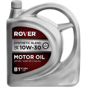 Aceite ROVER  10w-30  mezcla síntetica,  1galón